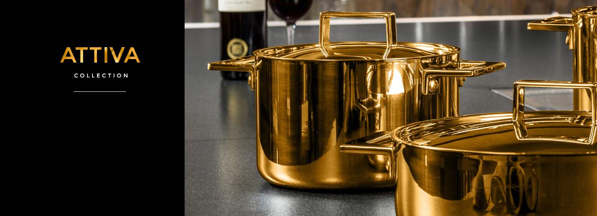 Attiva Gold Cookware