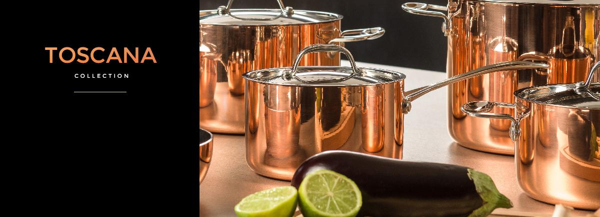 Toscana Copper Cookware