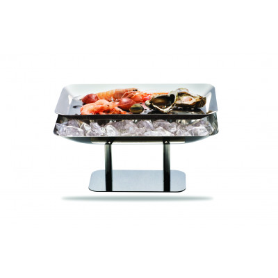 Marinated fish holder rectangular