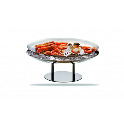 Marinated fish holder oval