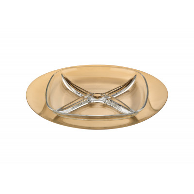 """Sq.hors d'oeuvre tray due """"ice oro"""""""