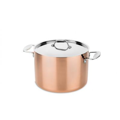 Toscana high pot ø24cm with lid