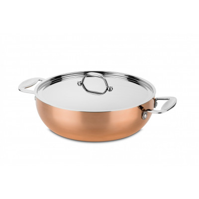 Toscana Copper frying pan ø28 cm